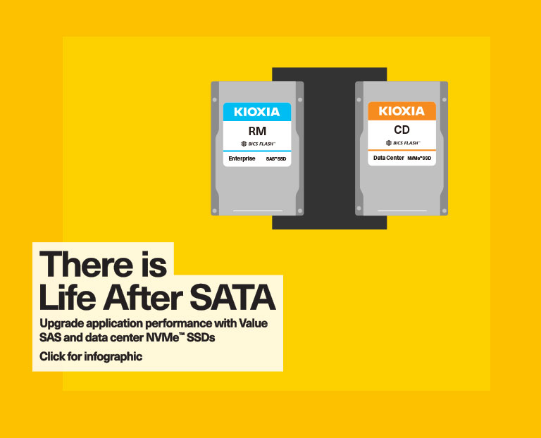 There is Life After SATA Infographic